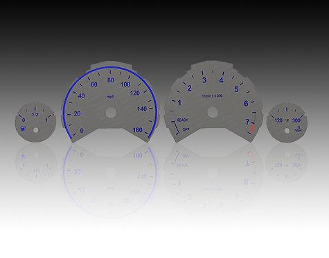 2013-2016 - BMW Serie 3 F-Body Grey/Blue (MPH)