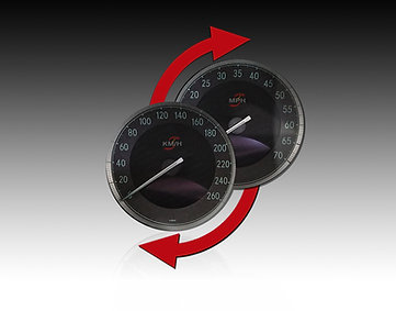 SPEEDOMETER CONVERSION KM/MILES OR MILES/KM