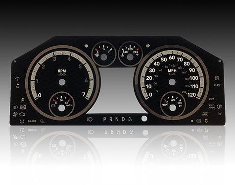 2009-2012 Dodge Ram Gas (MPH)