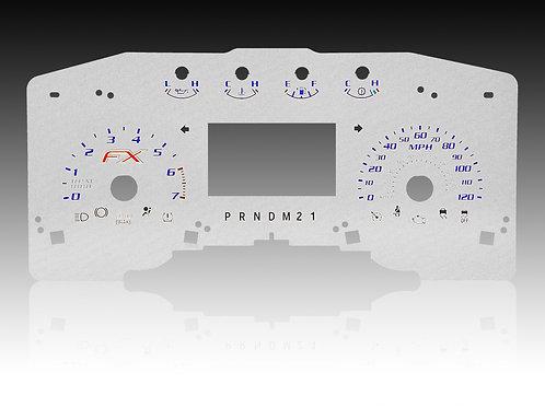 2011-2014 - FORD F-150 FX Silver (MPH/SHIFTER - PRNDM21)