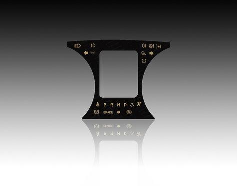 2013 & Up Center Glass Faceplate Dodge Ram, Tradesman & Express (X10)