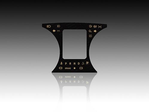 2013 & Up Center Glass Faceplate Dodge Ram, Tradesman & Express (x10Pcs.)