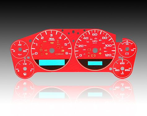 2007-2014 - Chevrolet Silverado Red (MPH/ECO)