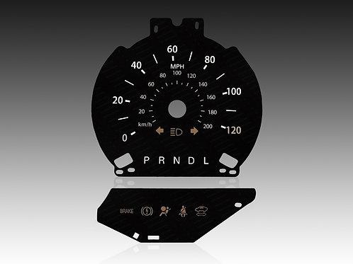 2013-2019 Ford Fusion Hybride (MPH/PRNDL)