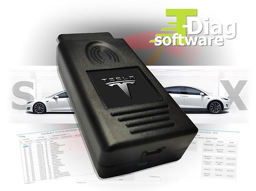 T-Diag Interface & Tesla Diagnostic Software