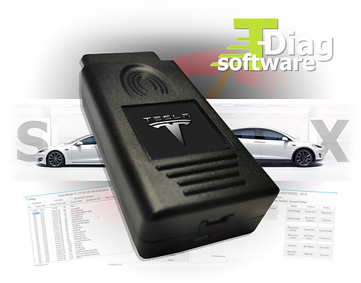 T-Diag Interface & Tesla Diagnostic Software