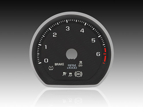 2019-2021 Chevrolet GMC Silverado/Sierra GAS 3D (x5Pcs./MPH) #SAC 04