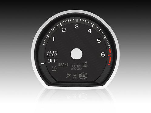 2019-2021 - Chevrolet GMC Silverado/Sierra GAS (x5Pcs./MPH) #SAC 02