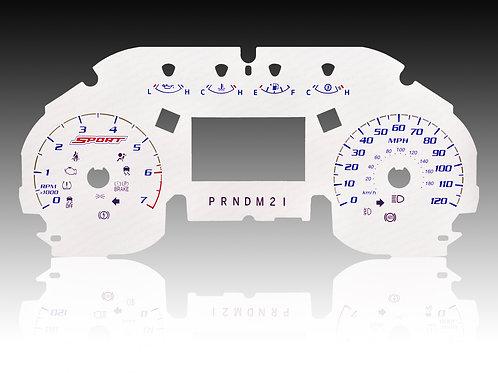 2015-2018 - Ford F-150 XLT Sport White (MPH/SHIFTER - PRNDM21)