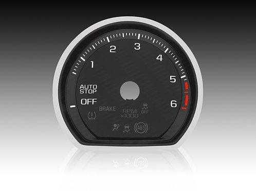2019-2021 Chevrolet Silverado 1500 LTZ Duramax Turbodiesel (x5Pcs./MPH) #SAC 01