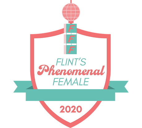 Flint's Phenomenal Female Badge Blank Tr