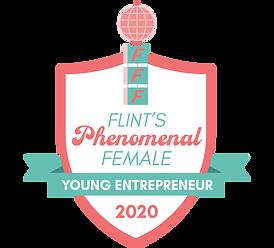 Flint's Phenomenal Female Badge-Young En