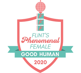 Flint's Phenomenal Female Badge-Good Hum