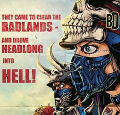 bikers, sci fi, post apocalypse, mutants, robots, tank girl, mad max, rolo