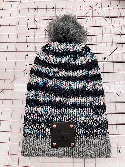 Knit Beanie - Fruity Stripe