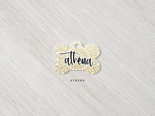Athena Gold Mandala