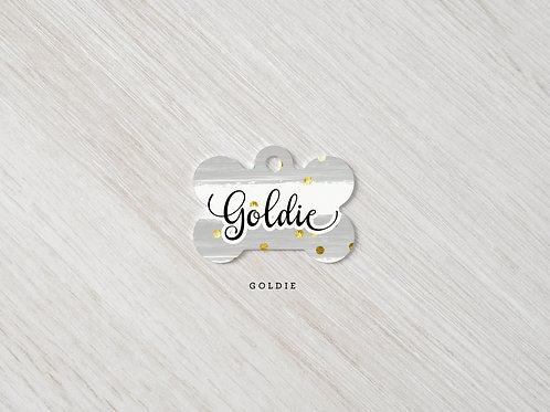 Goldie Grey & Gold