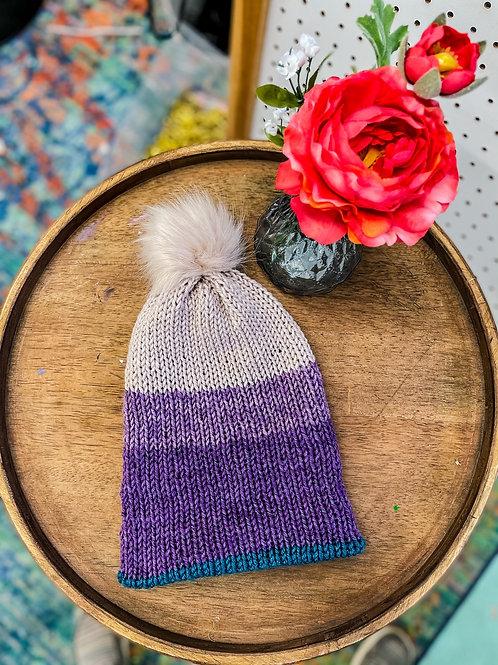 Knit Beanie - Mermaid Sparkle