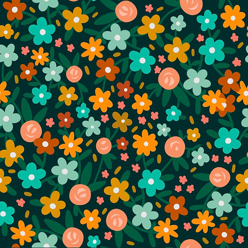 Pattern - Ditzy Daisies