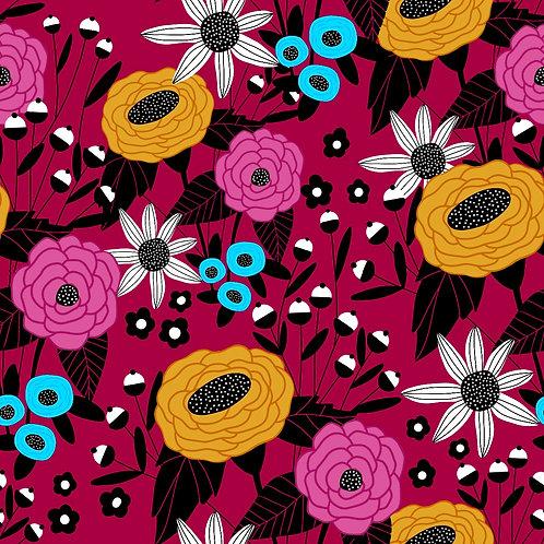 Pattern - Deco Pink