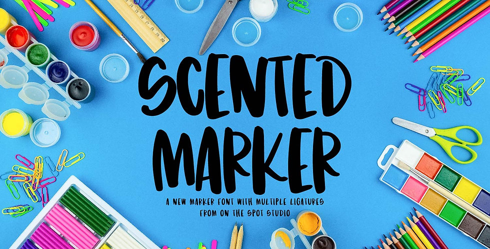scented marker