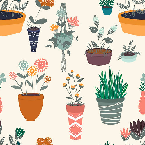 Seamless - Plant Life