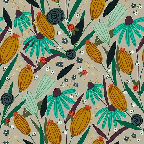 Pattern - Wildflower Field
