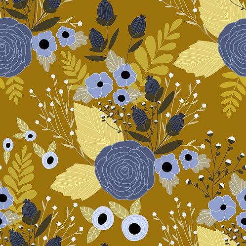 Pattern - Mustard Garden
