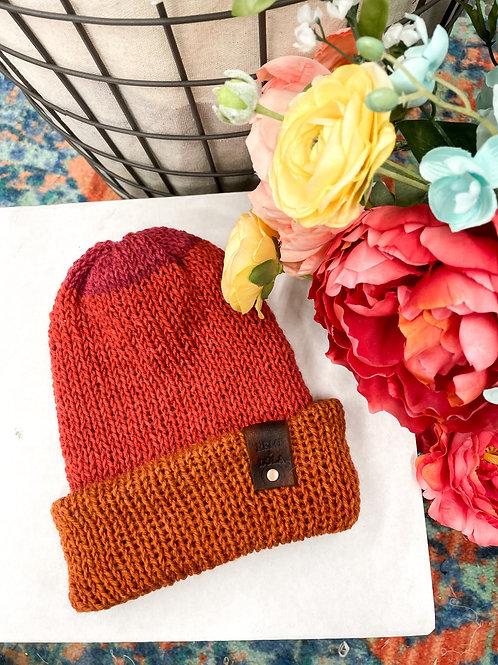 Knit Beanie - Sunrise