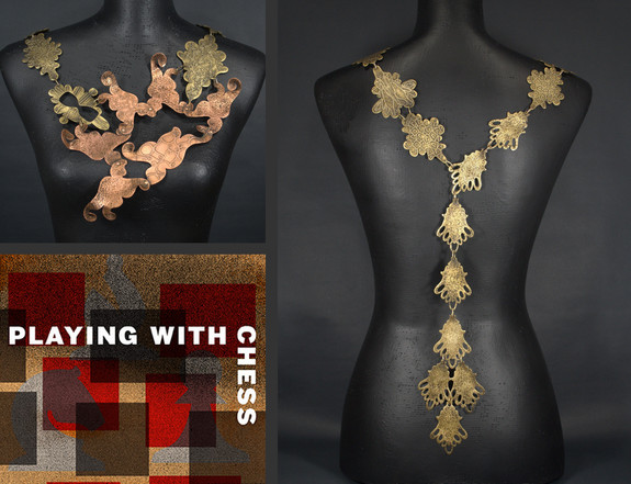 playing_with_chess_dawna_gillespie_metalsmith_copper_brass
