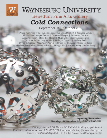 cold_connections_exhibition_waynesburg_university_benedum_gallery_katie_rearick_dawna_gillespie