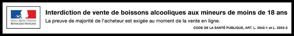 BANDEAU ALCOOL POMMARD