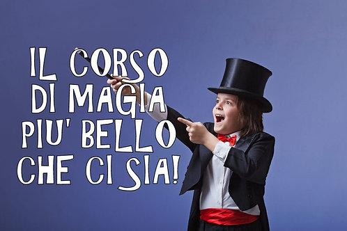 Corso di Magia per Bambini con il Mago Zazza