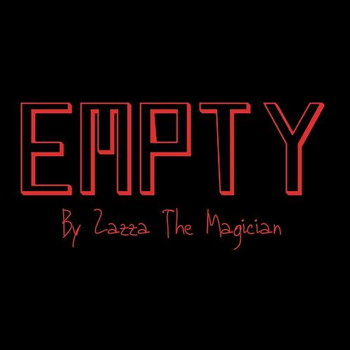 EMPTY By Zazza The Magician
