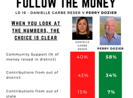 Dozier won't placate out-of-district donors