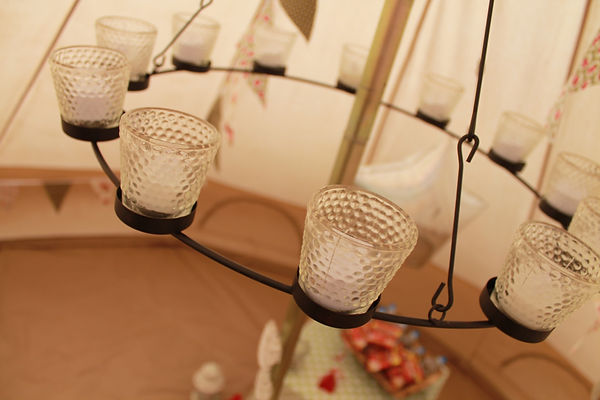 Bell tent party events cheshire sleepover, kids party, children's party VIP den.