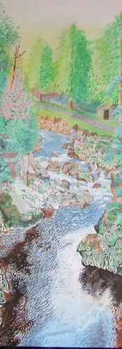 Acrylic on canvas, 46cm x 61cm, 2019