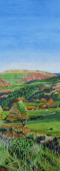 Autumnal North Wales landscape