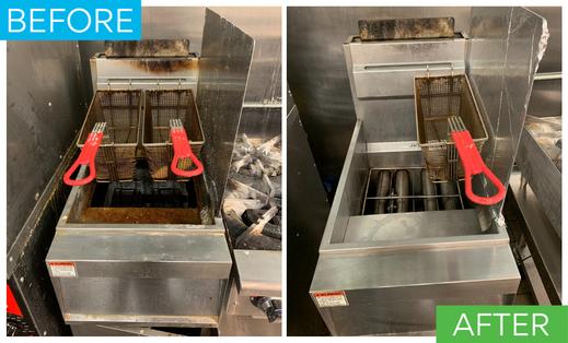 Deep Fryer Cleaning