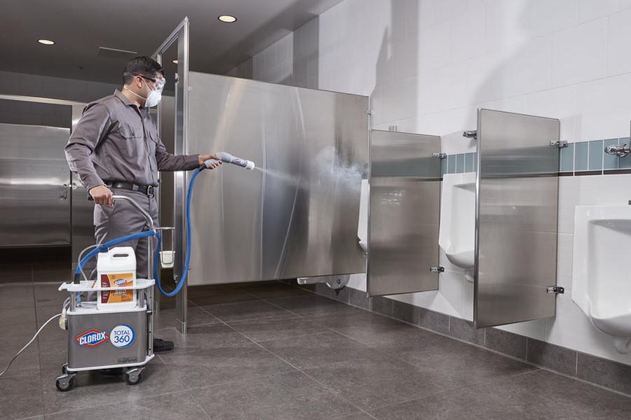 Clorox 360 Electrostatic Spraying Bathrooms Hawaii