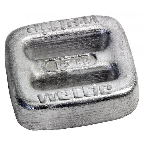 Lead Buckle Weights 1.5kg