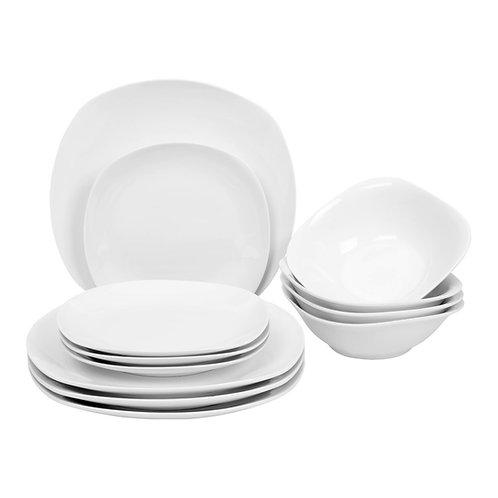 Liberty Quadra 12 Piece Dinner Set
