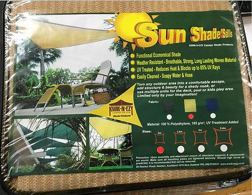 Sun Shade Sail - Square 3mtr