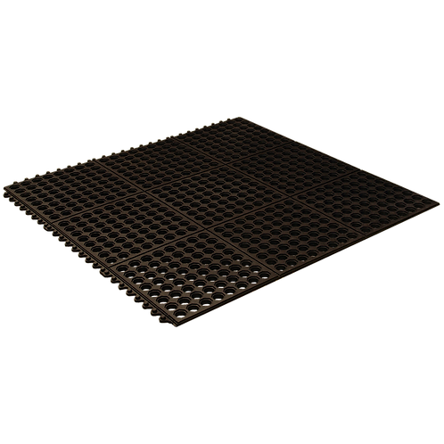 Axton Rubber Multiconnect Door Mat - 910 x 910mm