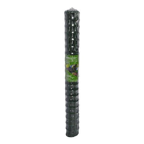 Kiwi Garden Garden Plastic Netting Green 5cm x 5cm 1m x 3m