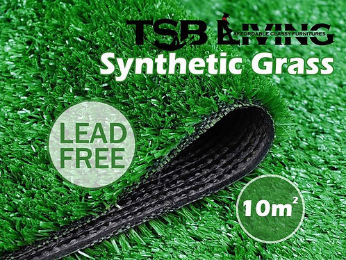 TSB Living Artificial Grass Synthetic Turf Lawn 10Sqm Olive