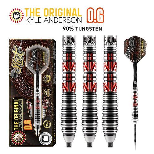 """Shot Kyle Anderson The Original """"O.G.""""-Steel Tip Dart Set"""