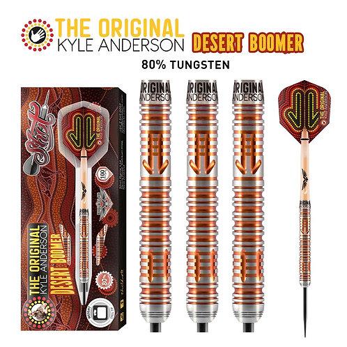 Shot Kyle Anderson - Desert Boomer - Steel-tip Darts
