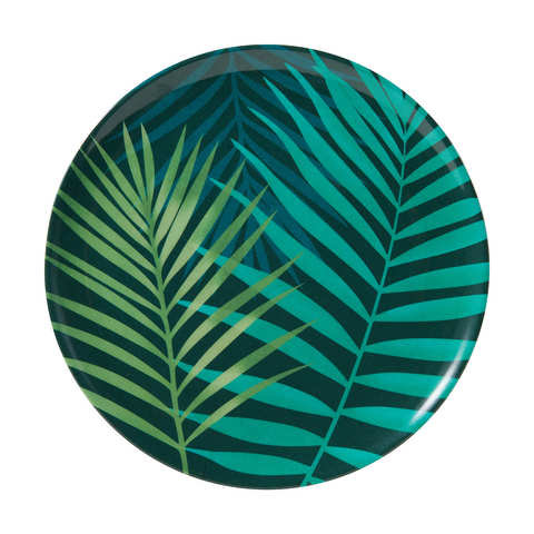 4 Tropical Palm Side Plates
