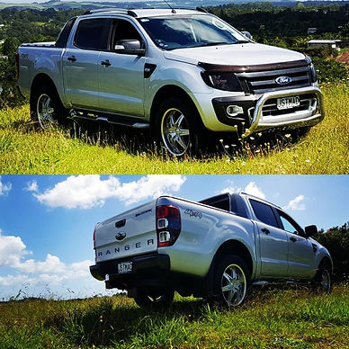my Ford Ranger Wildtrak
